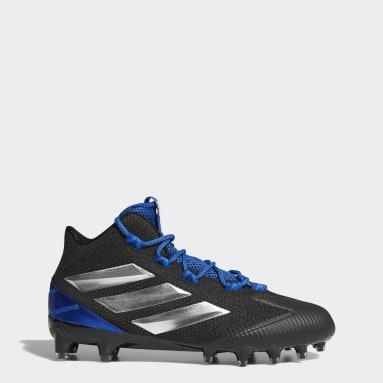 Men's Football Black Freak Carbon Mid Cleats