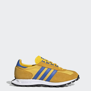 Sapatos Racing 1 Dourado Originals