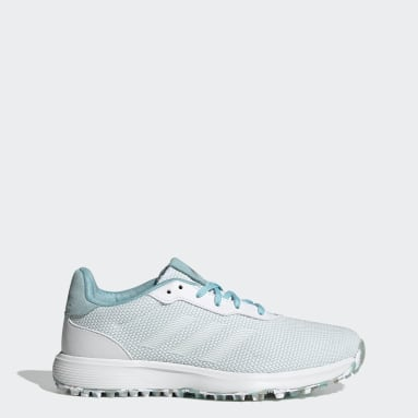 Women Golf Blue S2G Spikeless Golf Shoes