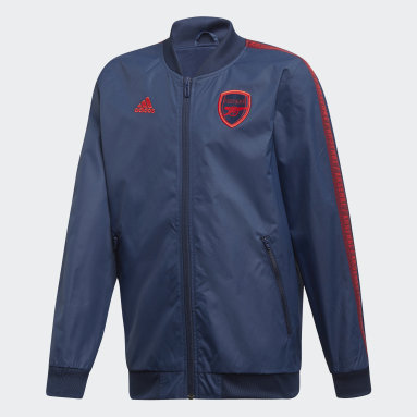 Arsenal Anthem Jacket Niebieski