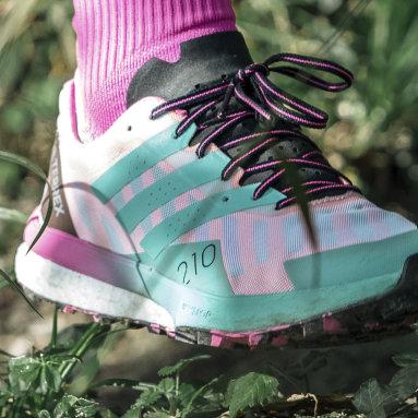 Ženy TERREX biela Tenisky Terrex Speed Ultra Trail Running