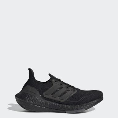 Kinderen Hardlopen zwart Ultraboost 21 Schoenen