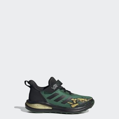 Children Running Green adidas FortaRun x LEGO® NINJAGO® Lloyd Shoes