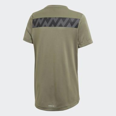 Jongens Yoga Groen XFG T-shirt