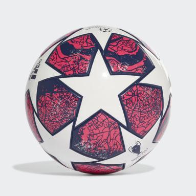 Ballon UCL Finale Istanbul League Junior 290 Blanc Garçons Football