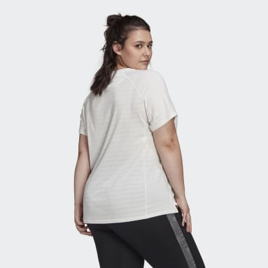 Women's Running White Made To Be Remade Running Tee (Plus Size)