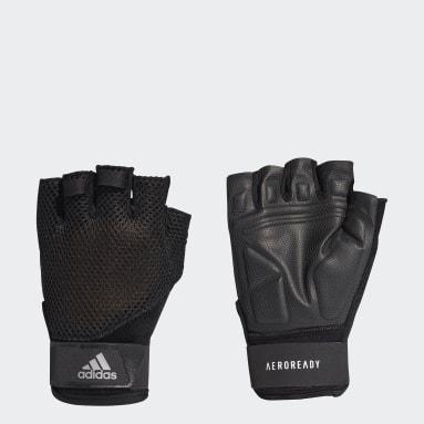 Hardlopen Zwart Training Handschoenen
