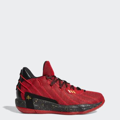 Muži Basketbal červená Tenisky Dame 7 CNY