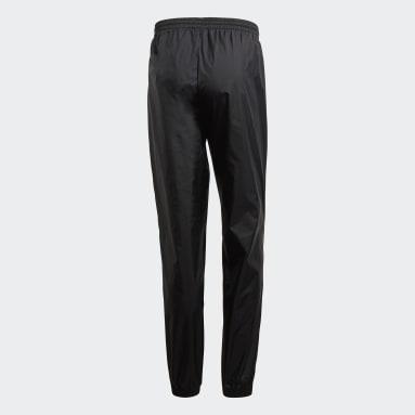 Men Gym & Training Black Core 18 Rain Pants