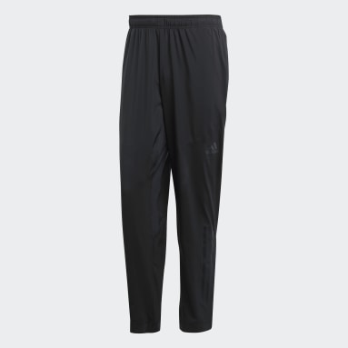 Men Cricket Black Climacool Workout Joggers