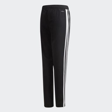 Děti Cvičení A Trénink černá Kalhoty Tiro 19 Woven