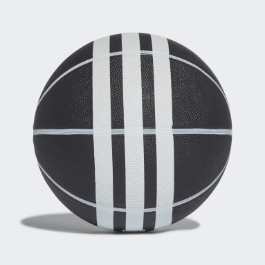 Basketball Black 3-Stripes Rubber X Basketball