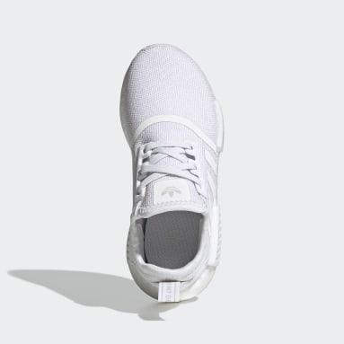 Children Originals White NMD_R1 Refined Shoes