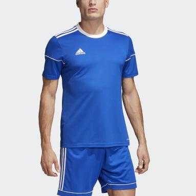 Heren Fitness En Training Blauw Squadra 17 Voetbalshirt