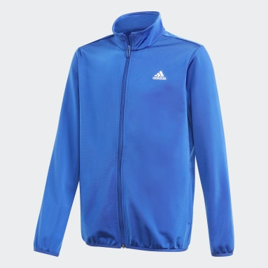 Youth Training Blue adidas Essentials Track Suit