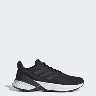 Women Running Black Response SR Shoes