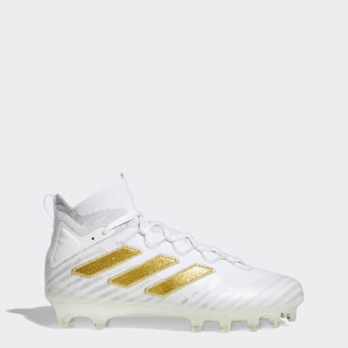 Men's Football White Freak Ultra Cleats