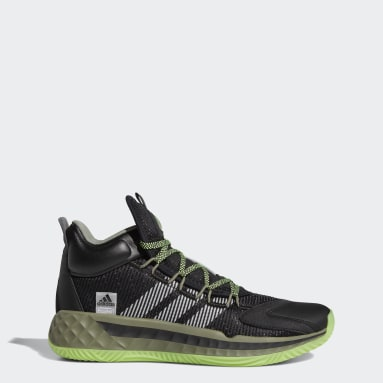 Basketball Black Pro Boost Mid Shoes