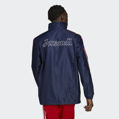 Men's Originals Blue Arsenal Rain Jacket