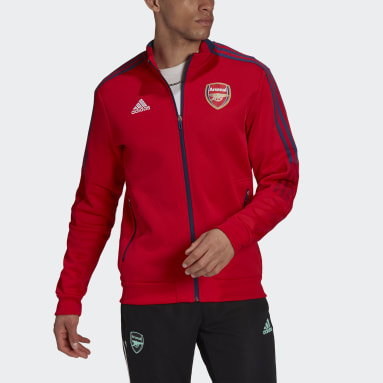 Men Football Red Arsenal Tiro Anthem Jacket