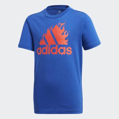 Camiseta Estampada Azul Meninos Training