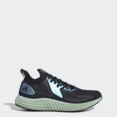 Dames Hardlopen Zwart Alphaedge 4D Schoenen