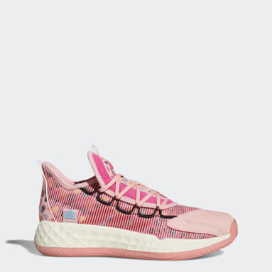 Basketball Pink Pro Boost Low Shoes