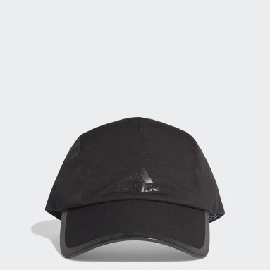Volleyball Black Runner Bonded Cap