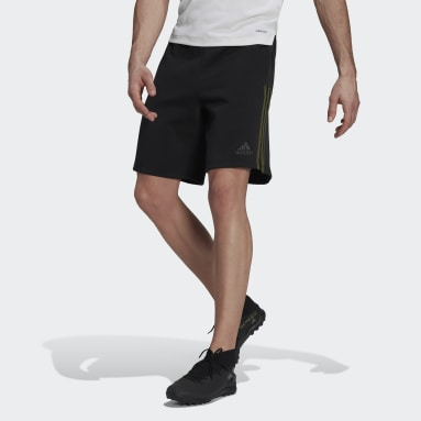 Men's Soccer Black Tiro Sweat Shorts