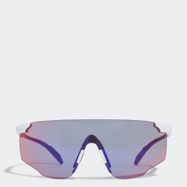 Running White Sport Sunglasses SP0031-H