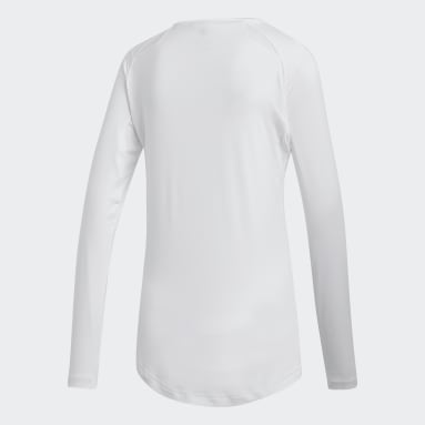 Women's Volleyball White Hi Lo Jersey