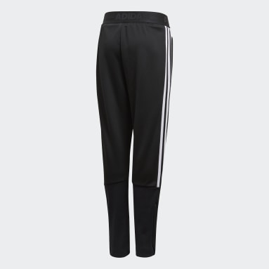 Boys Gym & Training Black Tiro Pants