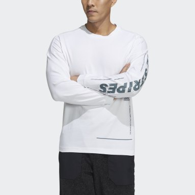 Men Sportswear White Word Loose Tee
