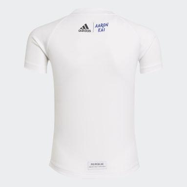 белый Комплект: футболка и шорты Aaron Kai