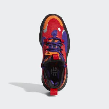 Chaussure Harden Vol. 5 Rouge Enfants Basketball