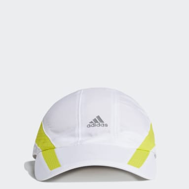 Field Hockey White AEROREADY Retro Tech Reflective Runner Cap