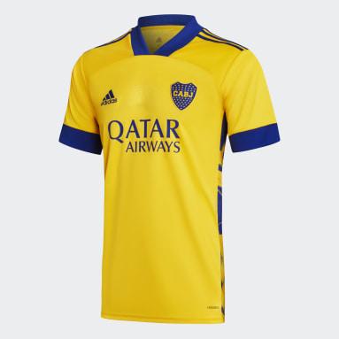 Camisa 3 Boca Juniors 20/21 Ouro Homem Futebol