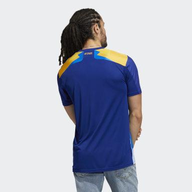 Camisa 3 Boca Juniors 20/21 Azul Homem Futebol