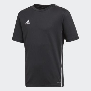 Camiseta entrenamiento Core 18 Negro Niño Gimnasio Y Entrenamiento