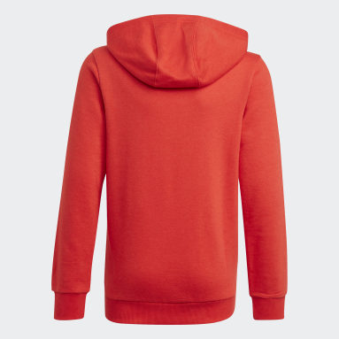 Boys Sportswear Red adidas Essentials Hoodie