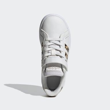 Chaussure Grand Court Blanc Enfants Tennis