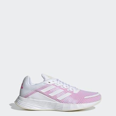 Women's Running White Duramo SL Shoes