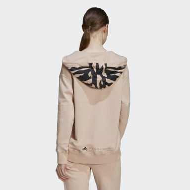 Felpa con cappuccio adidas by Stella McCartney Sportswear Rosa Donna adidas by Stella McCartney