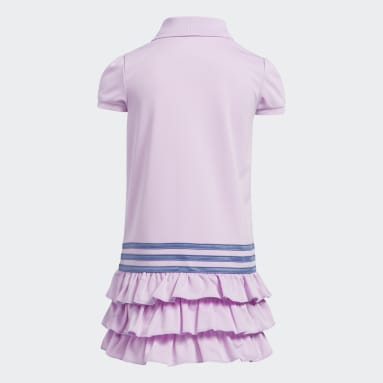 Children Training Purple Polo Dress