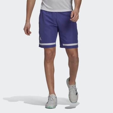 Men Tennis Purple Tennis Club Shorts