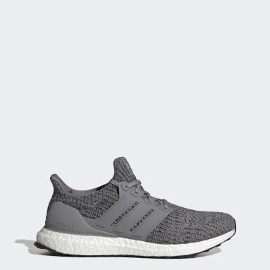 Men Running Grey Ultraboost 4.0 DNA Shoes