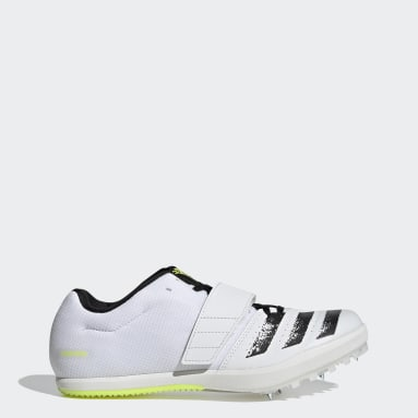 Men Track & Field White Jumpstar Spikes