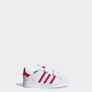 Infants Originals White Superstar Shoes