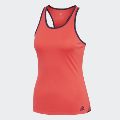 Women's Tennis Red Club Tennis Tank Top