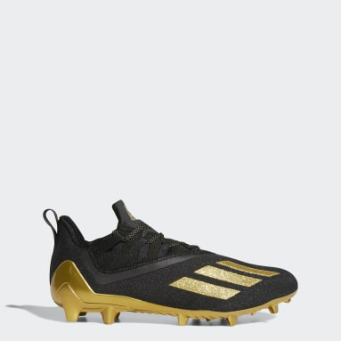 Men's Football Black Adizero 11.0 Football Cleats